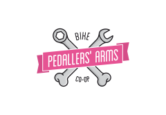 Pedallers logotype (high)