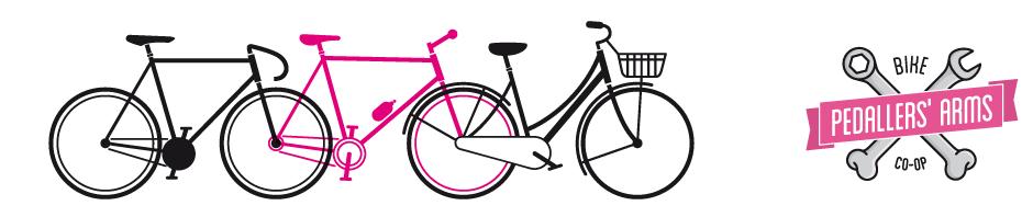 Pedaller's Arms logo